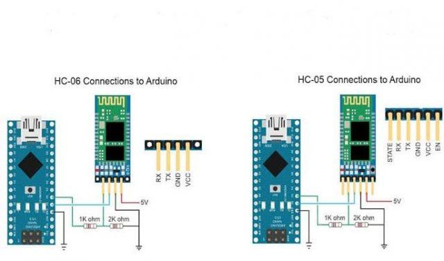 hc-06 bluetooth kablosuz haberleşme