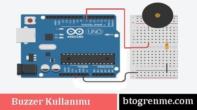 Arduino buzzer kullanımı